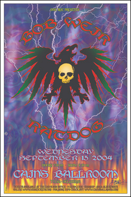 Bob Weir and Ratdog Concert Posters