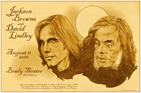 Jackson Browne with David Lindley in Tulsa