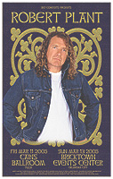 Robert Plant in Tulsa and OKC